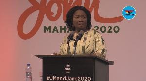 Major highlights from Jane Naana's outdooring speech