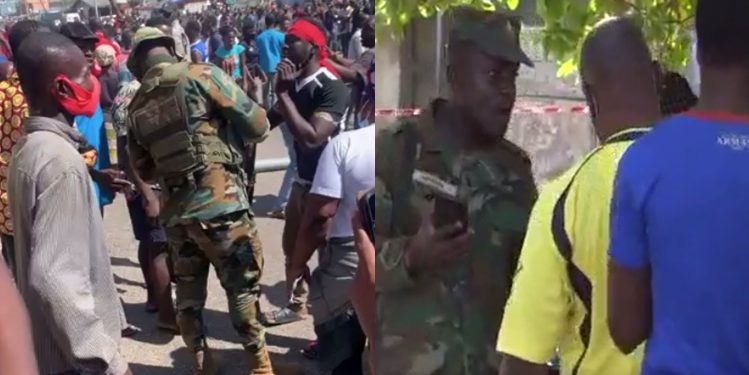 NDC releases visuals of alleged military intimidation, voter suppression at registration centres